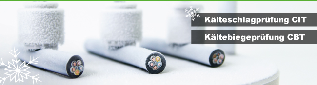 Laborgeräte für Materialprüfungen   Kälteschlagprüfung CIT und Kältebiegeprüfung CBT