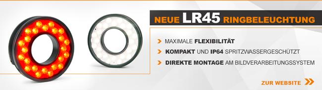 Neue LUMIMAX Ringbeleuchtung LR45 | MAX. FLEXIBILITÄT | KOMPAKT UND IP64 | DIREKTE MONTAGE