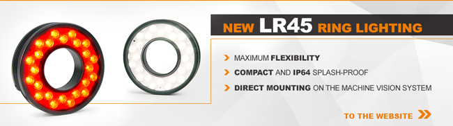 New LUMIMAX Ring lighting LR45 | MAX. FLEXIBILITY | COMPACT AND IP64 | DIRECT MOUNTING