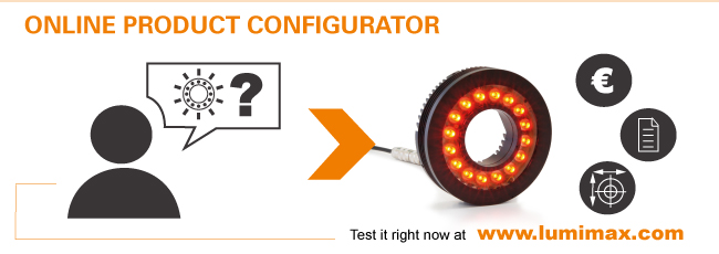 LUMIMAX Online Product Configurator - configure products individually and compare them quickly